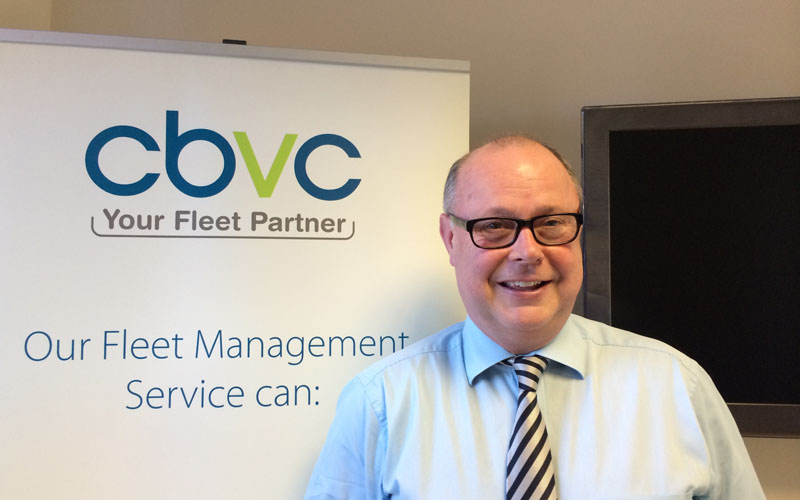 Mike Manners managing director CBVC Vehicle Management