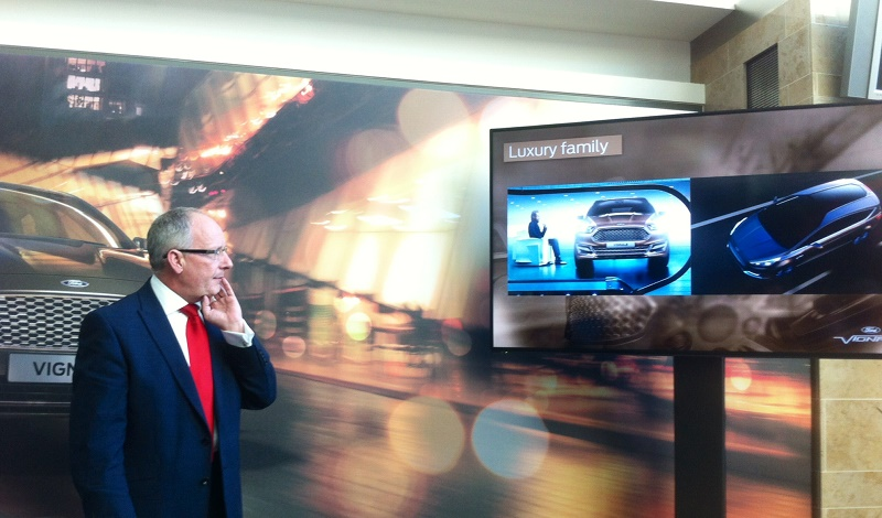 Andy Barratt presents Ford Vignale