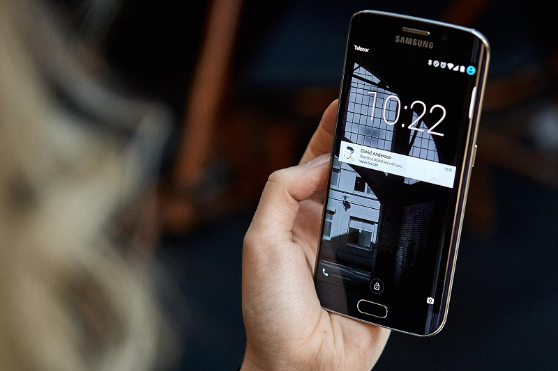 Volvo Cars digital key shared