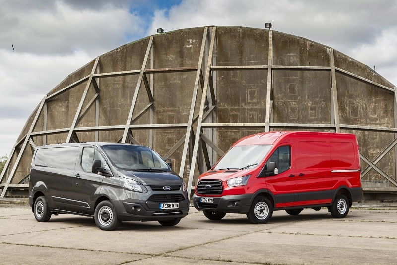 Transit Custom and Transit in the UK 66 plate