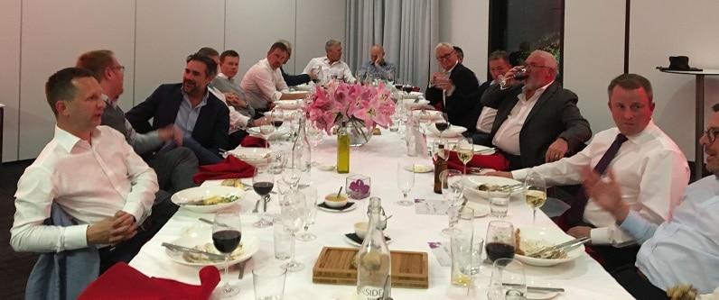 LBF Manchester17 dinner