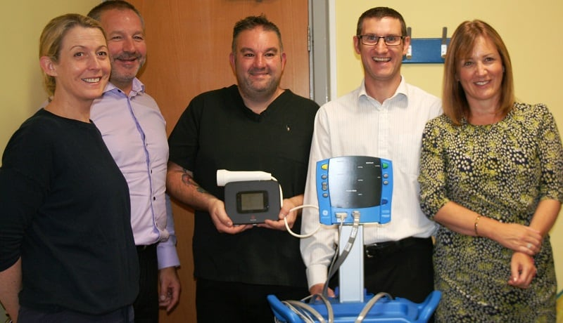 Synergy Automotive Hospital life saving childrens equipment