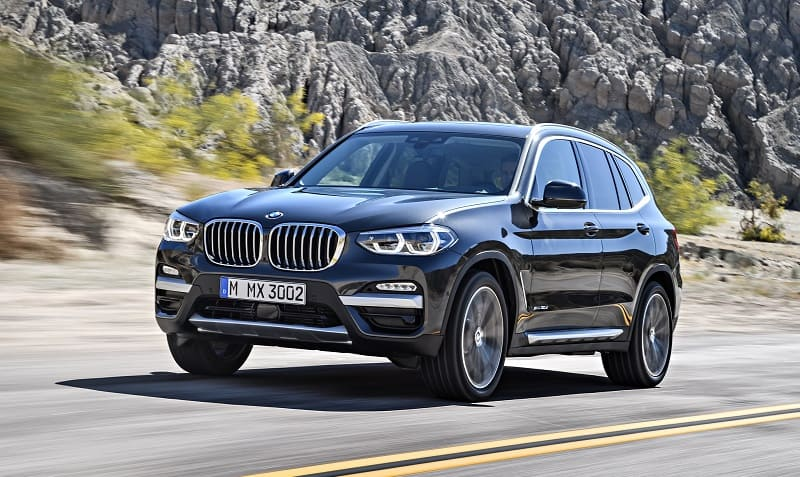 BMW X3 xDrive30d with xLine 2018