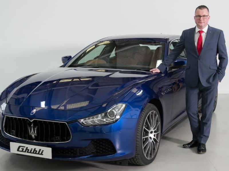 Howard Dalziel Maserati