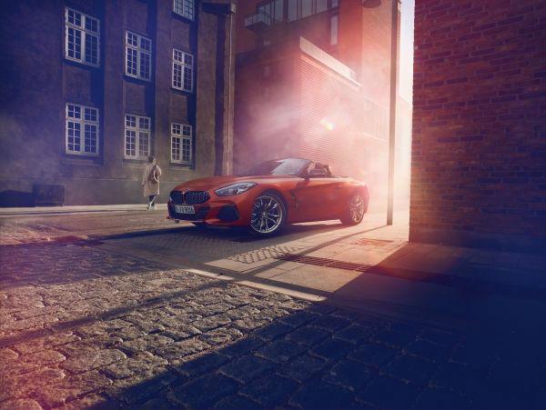 New BMW Z4 roadster