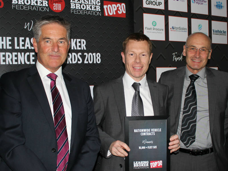 LBF Top30 winner Nationwide Vehicle Contracts